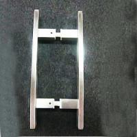 Quality Bathroom Stainless Steel Brush Glass Door Handle / Pull made in china ( BA-PH002 ) for sale