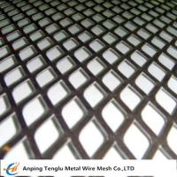 China Expanded Metal Grid|Flattened Expanded Mesh Customized Size by Stainless Steel or Aluminum for sale