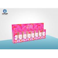 Wholesale Nail Polish Folding Cardboard Display Boxes Pink Mini For Cosmetic Shop from china suppliers