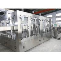 China 10 Capping Heads 12000BPH Carbonated Soft Drink Filling Machine on sale