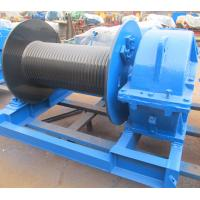 Quality Industrial Electric Winch High Speed For Crane , Electric Hoist Lifting Winch for sale