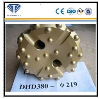 Wholesale Gold concave spherical  8 inch DTH drilling  tools of  DHD380  drill bit 219 mm from china suppliers