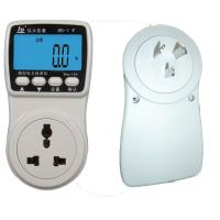 Wholesale 1.0 Accuracy Electricpower Plug in Power Monitor with Large LCD display from china suppliers