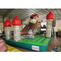 Wholesale Indoor Playground Inflatable Fun City , Commercial Children Castle Bounce House from china suppliers