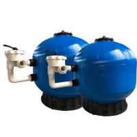 China Fiberglass Pool Side Mount Filter , Swimming Pool Filter System High Durability for sale