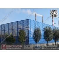 Wholesale Coal Storage Area  Wind & Dust Suppressing Fence 9.5m height X 4.5m Structure Spacing from china suppliers