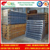 Natural Gas Industry CFB Boiler Finned Tube Petroleum Economizer In Power Plant