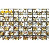 Wholesale Proffesional Shinning Mosaic Beveled Glass Mirror Tiles With 9 Facets from china suppliers
