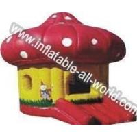 China Red Mushroom Bounce House for sale