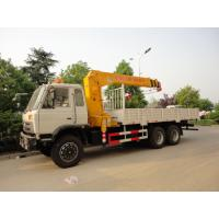 China dongfeng 6*4 12ton cargo truck with crane for sales, hot sale 210hp dongfeng dump truck with 8ton-12ton XCMG brand crane for sale