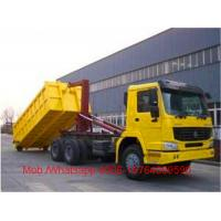 Wholesale Diesel Garbage Compactor Truck , Detachable Container Compression Garbage Collector from china suppliers