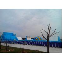 Wholesale Removable Metal Frame Above Ground Swimming Pools With 0.9mm PVC Tarpaulin from china suppliers