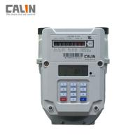 Buy cheap Steel Prepaid Electronic Gas Meter G1.6 / G2.5 / G4 , Low Credit Warning from wholesalers