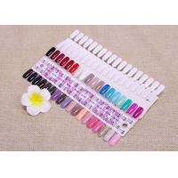 Wholesale White 36 Colors Nail Art Tips Card Nail Display Board / False Nail Manicure Tools from china suppliers