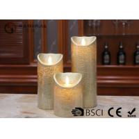 Wholesale Dancing Flame Battery Operated Candles , Romantic Flickering Flame Led Wax Candle from china suppliers