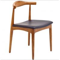 Wholesale Hans Wegner Replica Horn Design Solid Oak Wood Restaurant Dining Chair from china suppliers