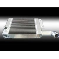 China Aluminum Brazed Plate Flat Fin Tube Air To Oil Cooled Heat Exchanger on sale