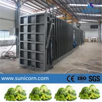 Six pallets Vacuum cooler R404a refrigerant for pre-cooling vegetable and fruits