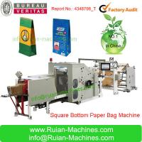 Wholesale CY180 Roll feeding square bottom paper bag making machine from china suppliers