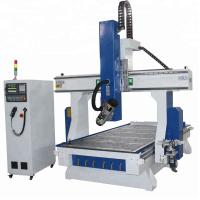 Vacuum Table CNC Metal Cutting Machines 1325 , 4 Axis Cnc Router Milling Aluminum