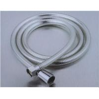 Wholesale 150mm Transparent Flexible Shower Hose Replacement  Tension Pull Strength ≥ 20KGS from china suppliers