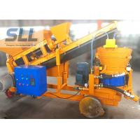 China Screw Mixer Concrete Spraying Machine Self Loading Shot Concrete Machine on sale