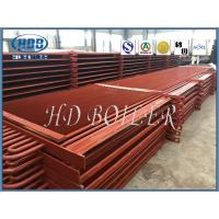 Buy cheap Red Color High Efficient Fin And Tube Heat Exchanger With Long Service Life from wholesalers