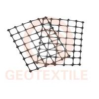 China High Strength PP Biaxial Geogrid For Slope Stabilization / Retaining Walls on sale