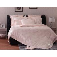 China Pink Elegant Twin Lace Luxury Bed Sets Queen , Bedroom Bedding Sets on sale