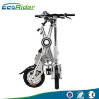 China EcoRider 350w motor chainless Folding Electric Bicycle fashion styles on sale