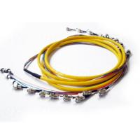 Quality FC / UPC 12 Cores Optical Fiber Patch Cord Single Mode for CATV for sale