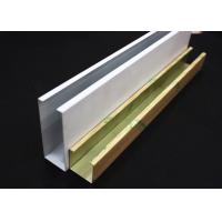 China Metal U-aluminum Profile Screen Ceiling for sale