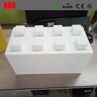 Wholesale PE / Plastic Outdoor Amusement Equipment Construction Building Blocks Toys Square Shape from china suppliers