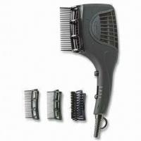 China Dual-voltage Professional Style Hair Dryer with DC Motor and Optional Ionic Function on sale