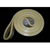 Wholesale w/o Resin Kevlar Felt Belt 480°C Temperature Resistance Yellow Black from china suppliers