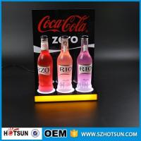 Wholesale Shenzhen supplier Free design LED acrylic display for wine acrylic products manufacture from china suppliers
