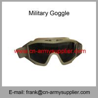 Wholesale Wholesale Cheap China Outdoor Sports Riding Anti-Scratch Anti-Fog Army Glasses from china suppliers