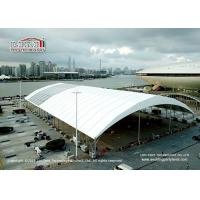 Wholesale 80m Big Clear Span Structure Frame Tent For Sports Hall , Aluminum PVC Tent from china suppliers
