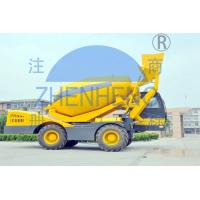 Wholesale Industrial 4 Cubic Volumetric Self Loading Concrete Mixer Machine Heavy Duty from china suppliers