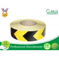 Quality 5 CM x 25 M Reflective Safety PE Warning Tape Sticker Roll Film for Trailer / Camper for sale