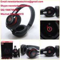 China HOT!!!New black/white/red beats wireless studio v2 headphone beats solo 2 v2 headphone by dr dre on sale
