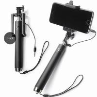 Selfie Stick 3.5mm Cable Monopod Extendable Selfie Handheld Stick for Smartphone for sale