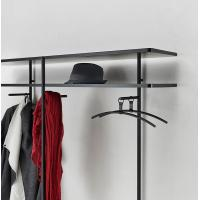 Quality Wall cabinets Cloth rack display made by Metal tube in powder coating with wood for sale