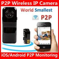 Wholesale MD81S WiFi Camera iOS/Android Wireless IP P2P Surveillance Camera Spy Hidden TF DVR MD99S from china suppliers