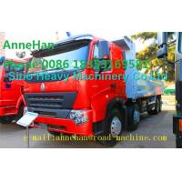 Quality A7 Heavy Duty Dump Truck 8x4 380hp EUROIII Front lift HYVA 169 Cylinder for sale