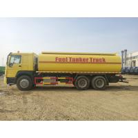 China Large Capacity Fuel Tank Semi Trailer With Twin Countershaft Structure for sale
