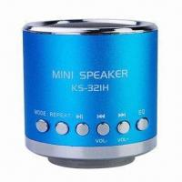 Wholesale Mini Speaker Supported Micro SD USB AUX/ANT Mini Aluminum Music Speaker with Column Shape from china suppliers