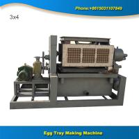 China Professional recycling waste paper machine make pulp egg tray on sale