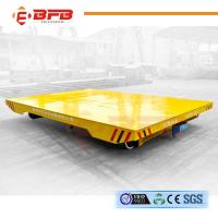 Wholesale Long Distance DC Motor Driven Towed Rail Transfer Cart With Emergency Stop from china suppliers