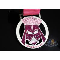 Buy cheap Unique Decoration Enamel Medals For Sports Events Gliter Color Anti Corrosion from wholesalers